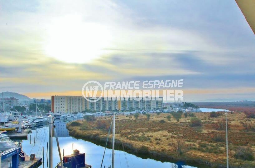 vente appartement rosas, ref.3863, secteur calme, terrasse vue mer et parc naturel