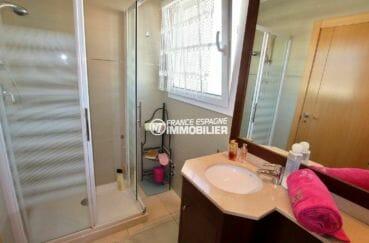 immo espagne costa brava: villa ref.3875, salle de bains de la première suite parentale