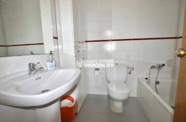 appartements a vendre a rosas: ref.3882 - 2 chambres, séjour et salle de bains