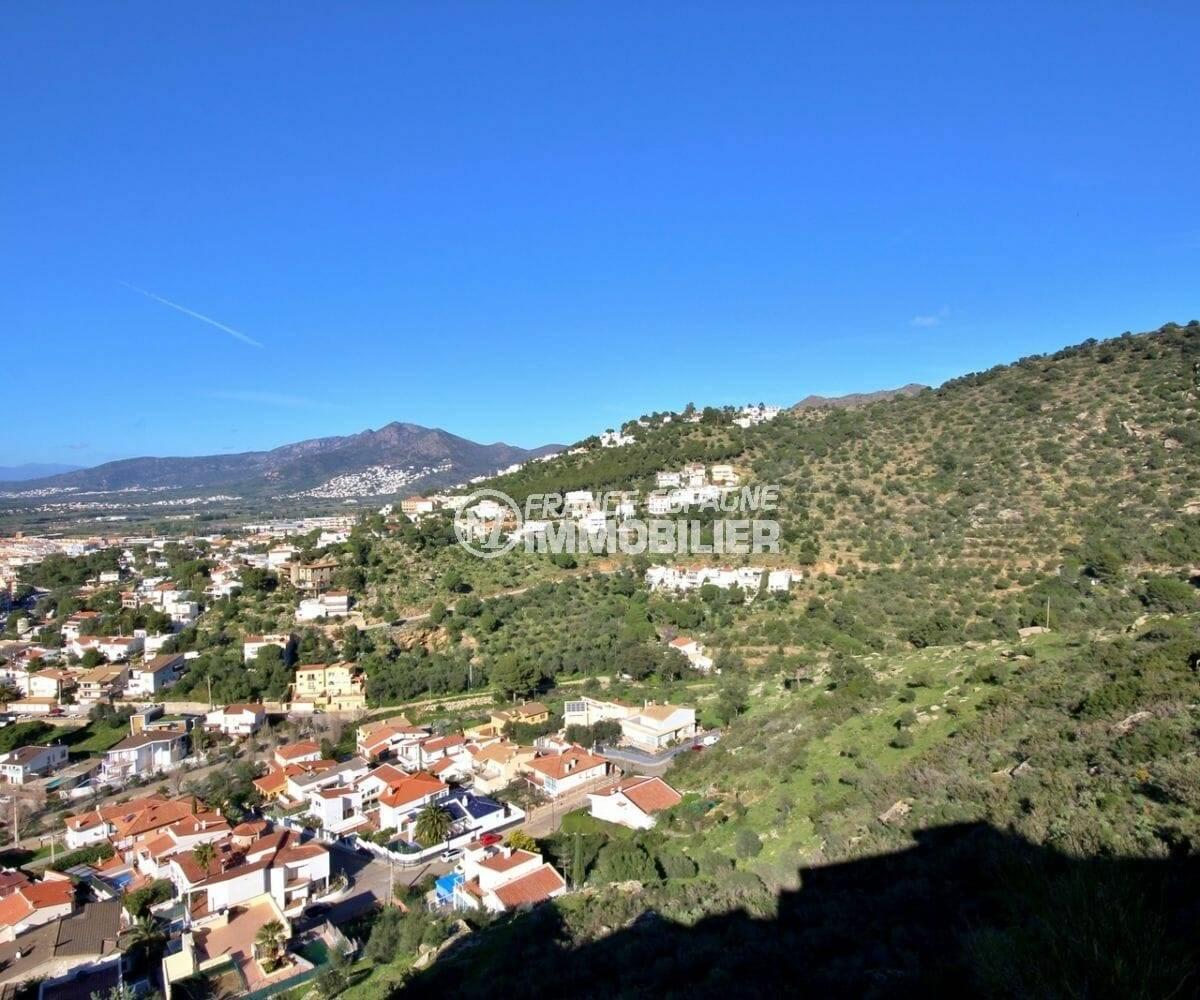 magnifique vue montagnes, maison a vendre a rosas ref.3871