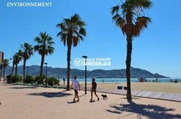 costabrava immo: appartement ref.3867, promenade le long de la plage aux alentours
