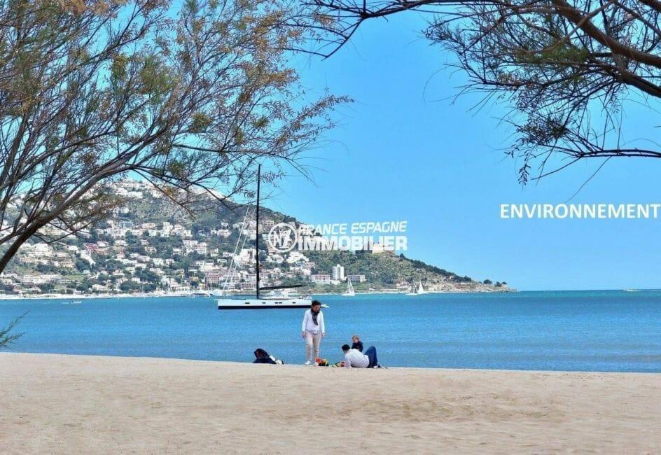 global immo rosas: appartement ref.3868, aperçu de la mer et du puig rom aux environs