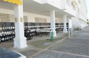 immo roses: appartement ref.3873 avec parking à vélos