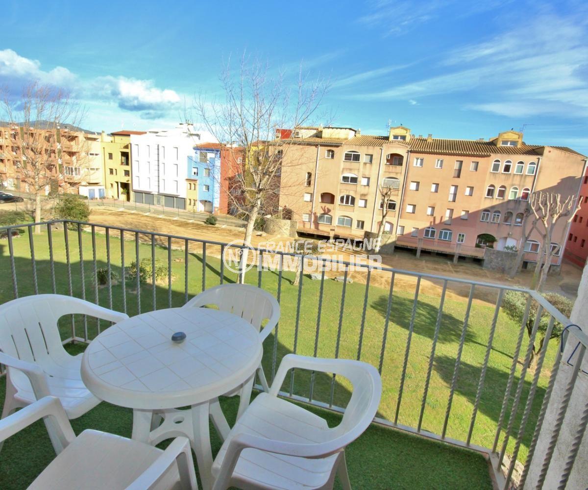 vente appartement empuriabrava, de 57 m², possibilité parking privé et piscine communautaire