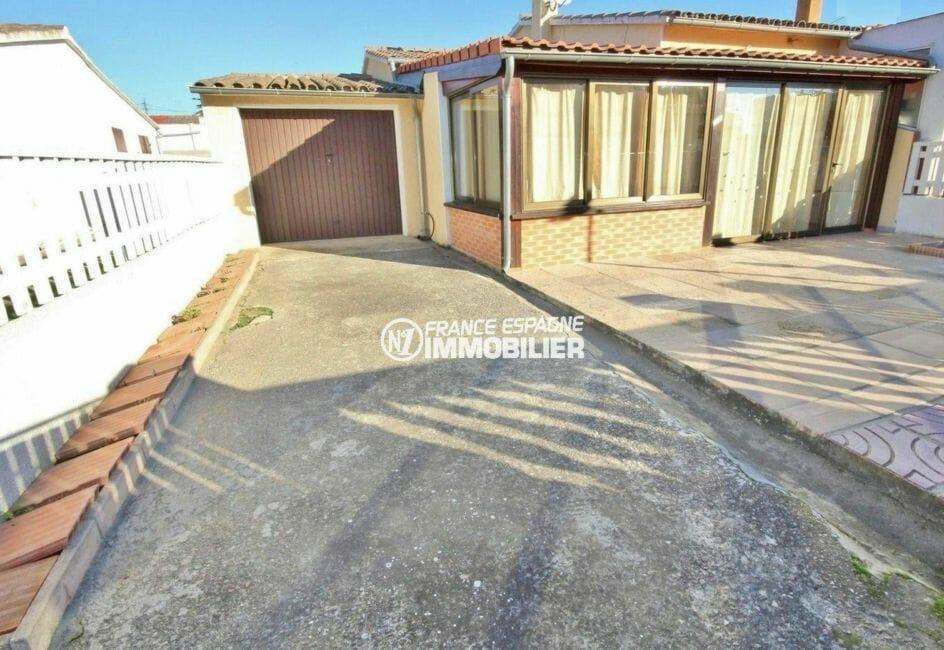 vente immobilière costa brava: villa de 80 m² plain-pied, secteur résidentiel, proche plage