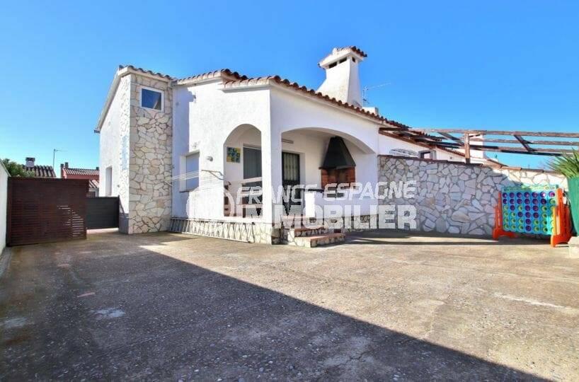 immobilier ampuriabrava: villa 109 m² construit sur terrain de 232 m²