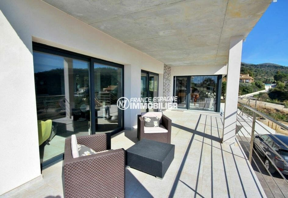 maison a vendre a rosas, 4 chambres, terrasse 24 m², piscine, vue magnifique