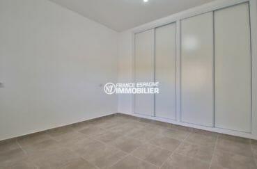 vente appartement rosas: appartement 54 m², chambre avec des placards