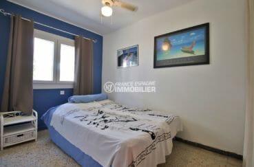 appartement a vendre a rosas, 43 m², deuxième chambre avec lit double