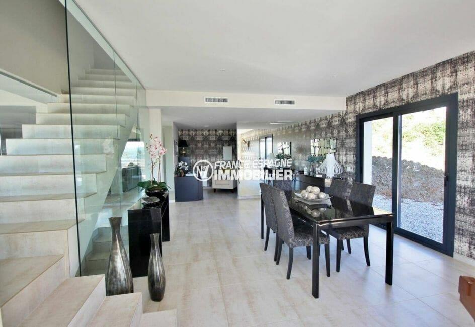 roses immobilier: villa 330 m² nouvelle construction, 250 m² habitables
