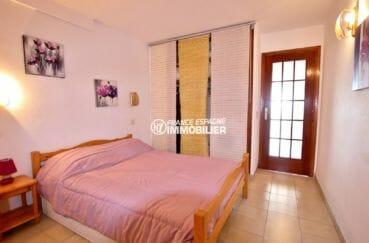 vente immobilier rosas espagne: appartement 39 m², chambre type alcôve avec rangements