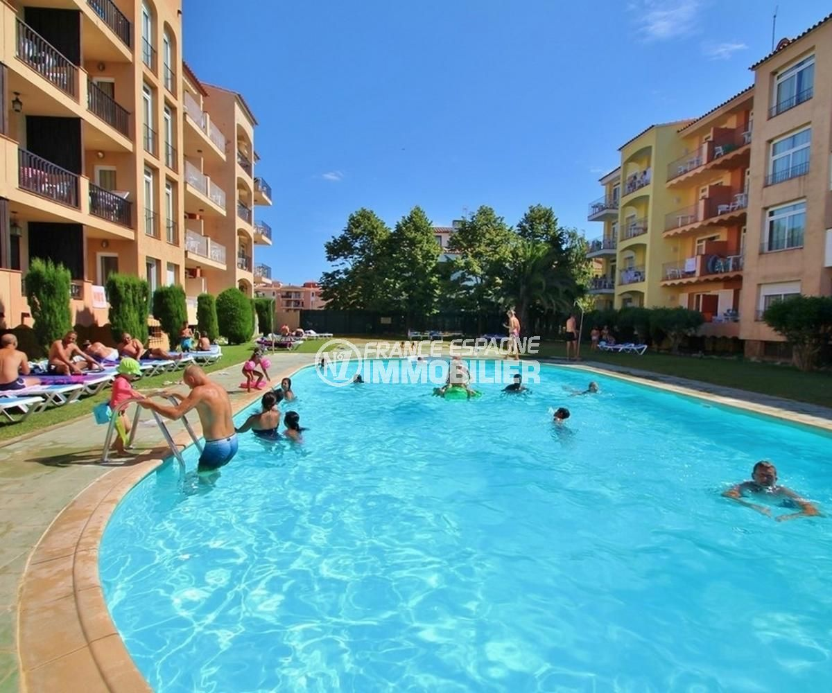 appartement à vendre à empuriabrava, 53 m², possibilité piscine communautaire