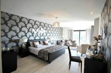 agence rosas: villa 330 m² construction nouvelle, suite parentale avec accès terrasse