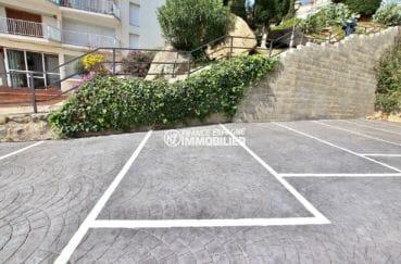 la costa brava: appartement 39 m², parking privé extérieur