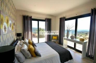 immo costa brava: villa 330 m² construit, seconde suite parentale (4e chambre)