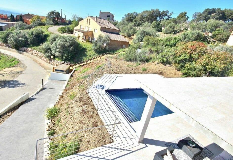 achat roses espagne: villa ref.3894, construction nouvelle, terrase 24 m², piscine, secteur calme