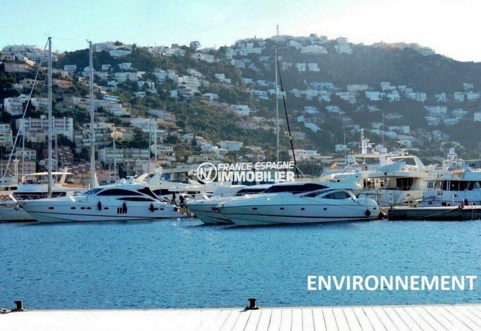 maison a vendre espagne bord de mer, ref.3894, port de plaisance aux alentours