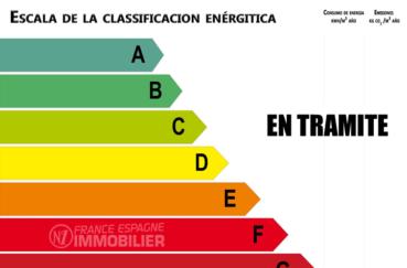 agence immobiliere roses: villa ref.3890, bilan énergétique en cours de réalisation