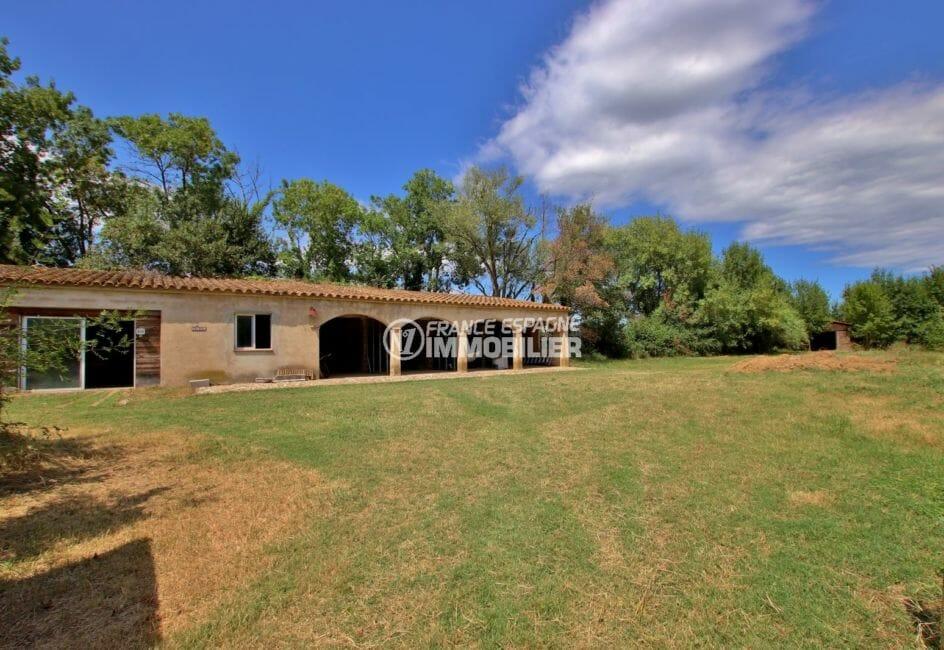 maison a vendre espagne catalogne, investissement, abri en bois de 144 m² avec 3 puits