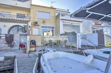 appartement a vendre empuriabrava, 72 m² avec amarre sur canal, petit prix