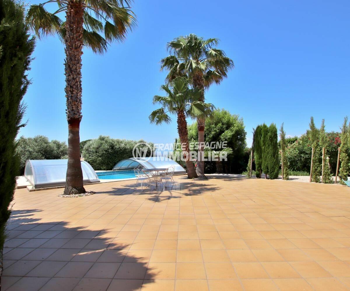 maison a vendre espagne, 300 m² avec piscine 8 m x 4 m, grande terrasse solarium