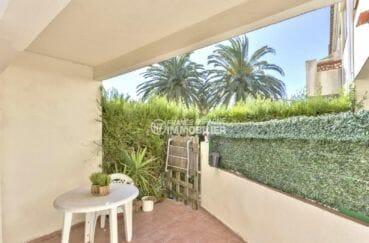 agence immo empuriabrava, piscine, belle terrasse espace repas accès salon / séjour