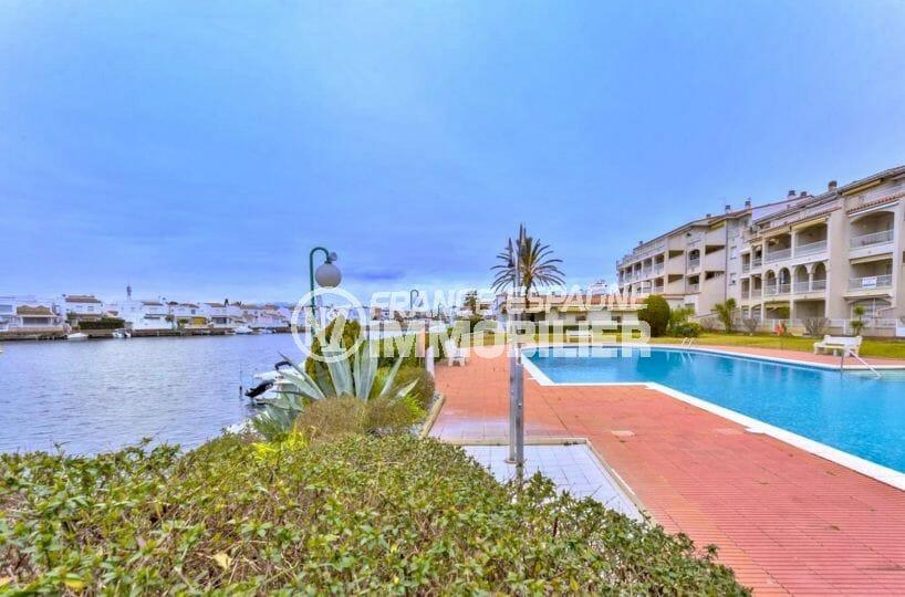 la costa brava: appartement 55 m², piscine commaunautaire de la résidence