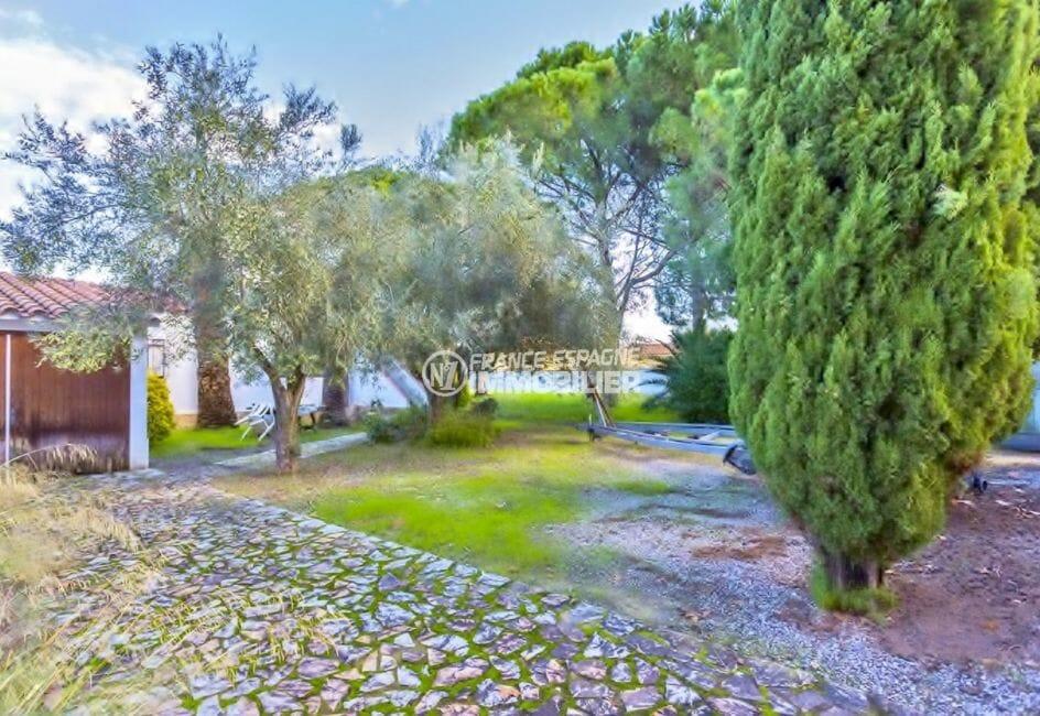 la costa brava: villa 160 m², terrain de 1090 m² spacieux et arboré