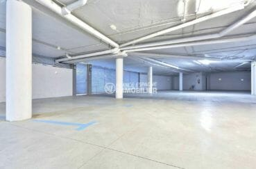 vente immobilière costa brava: appartement atico, aperçu du garage en sous-sol
