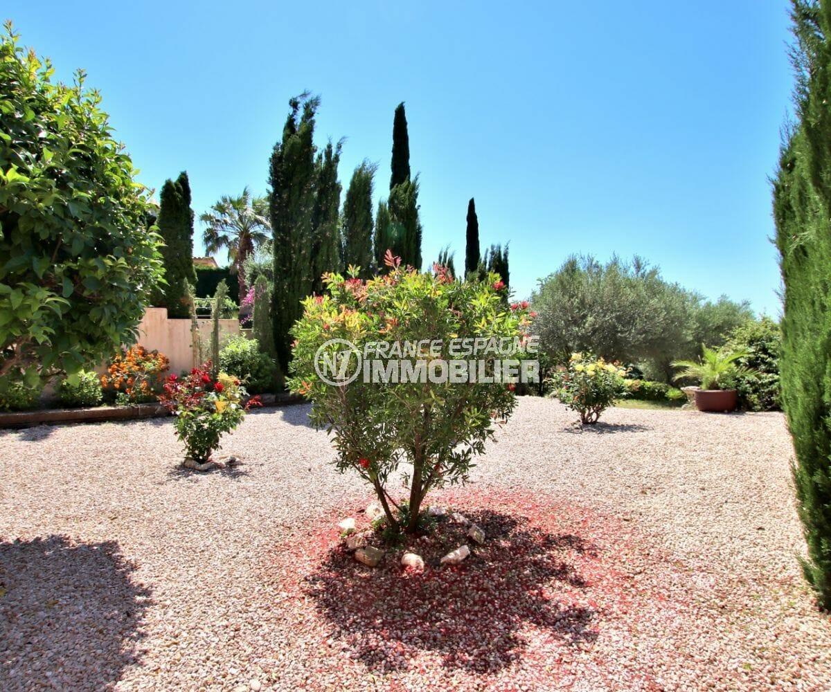 maison a vendre costa brava espagne, ref.3930, grand jardin arboré dans secteur calme