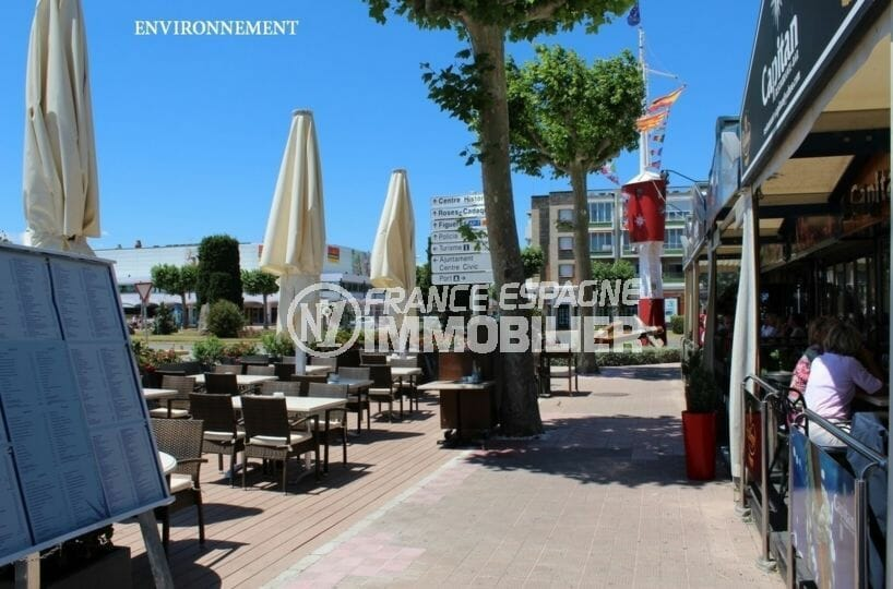 restaurants à proximité de la plage