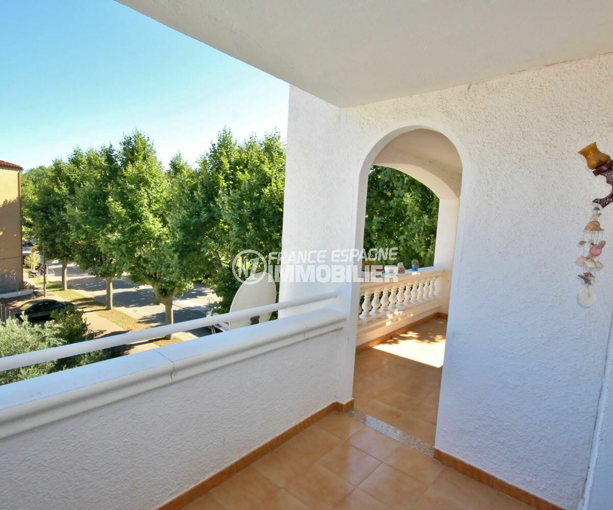 immobilier empuria brava: appartement 97 m², grande terrasse de 14 m²