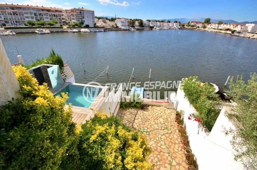 immobilier empuria brava: appartement 53 m², vue dégagée sur le lac depuis la terrasse