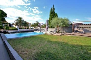 agence immobilière costa brava: villa 179 m², sur terrain entretenu de 499 m²