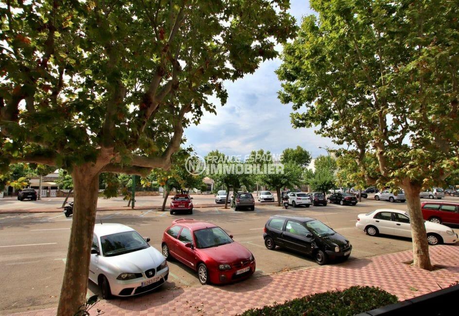 vente immobiliere costa brava: appartement 51 m², parking disponible près de la résidence