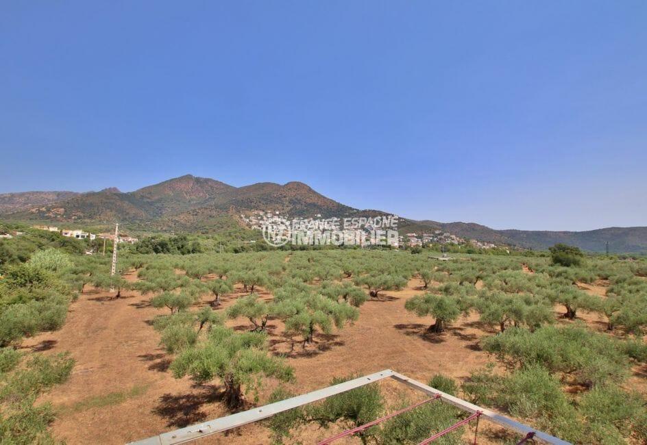 agence immobiliere costa brava: appartement 33 m², magnifique paysage depuis la terrasse