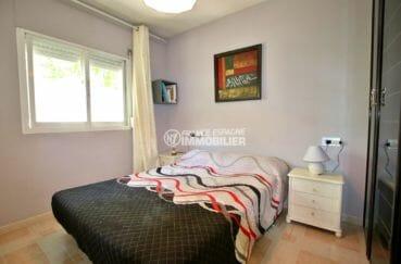 agence empuriabrava: villa 81 m², deuxième chambre avec lit double