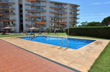 acheter appartement rosas: parking, résidence avec piscine communautaire