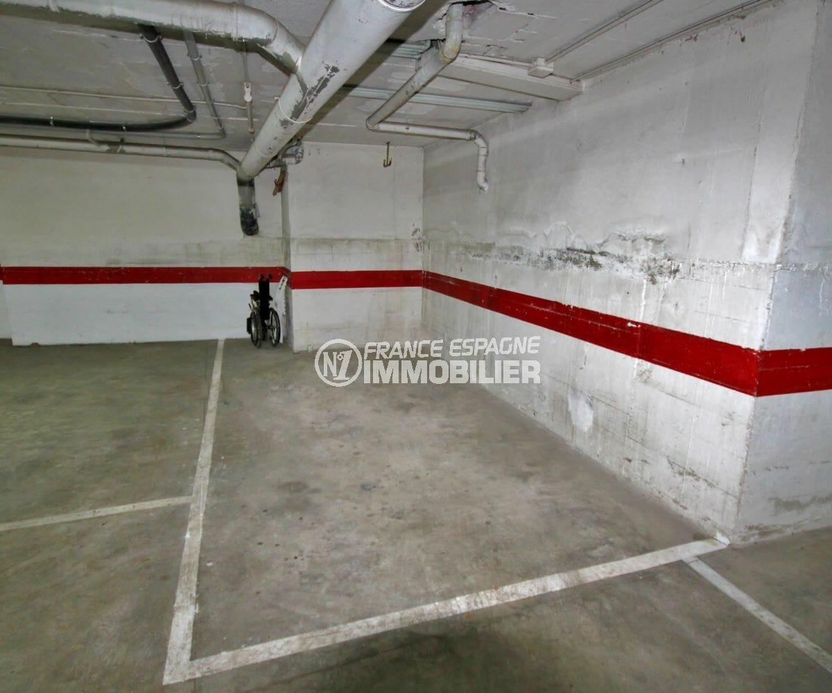 la costa brava: appartement ref.3942, deuxième place de parking en sous-sol