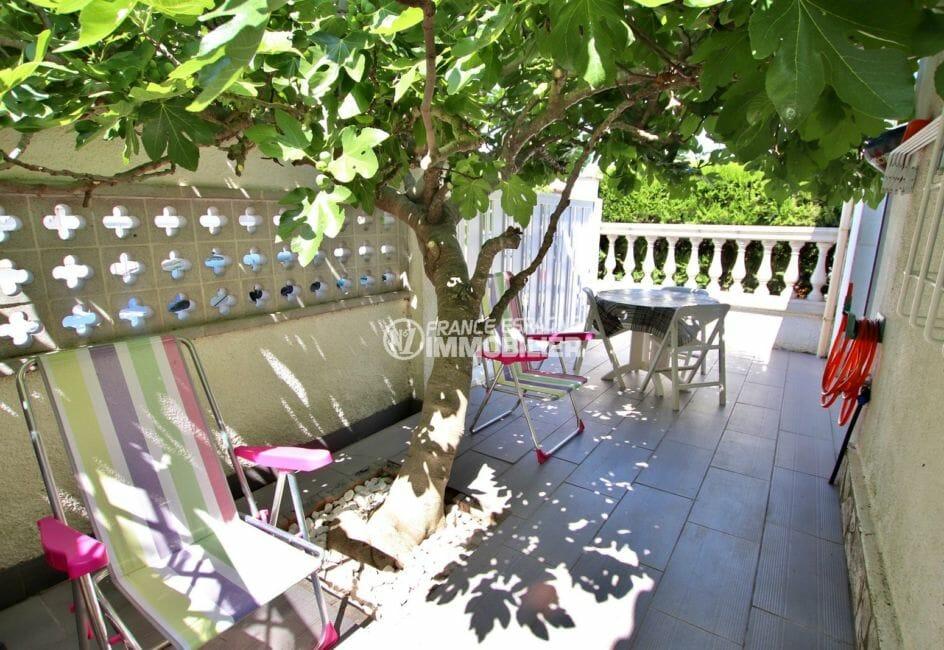 la costa brava: villa 81 m², deuxième terrasse de l'appartement indépendant