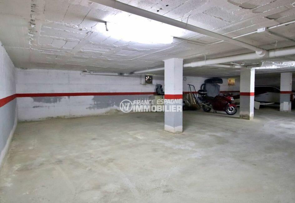 appartement à vendre à rosas espagne, atico 53 m², parking privé de 30 m² en sous-sol
