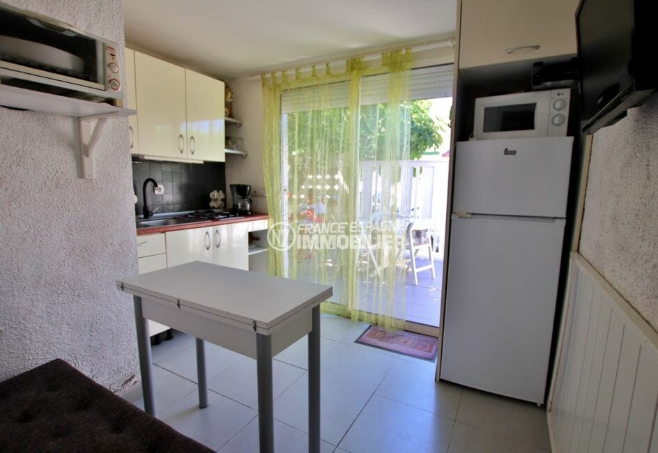 acheter maison costa brava, appartement indépendant, cuisine équipée accès terrasse