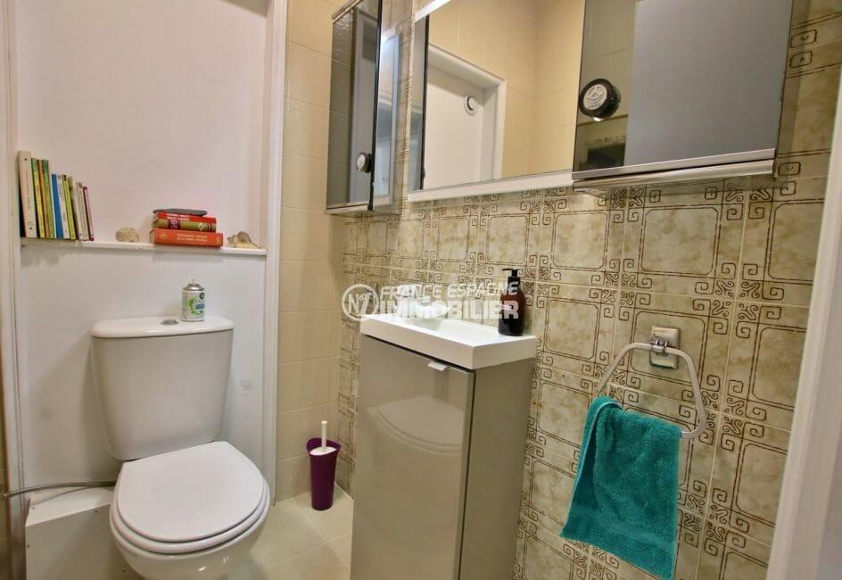 maison a vendre espagne bord de mer,  piscine, wc indépendant avec meuble vasque