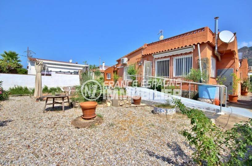maison a vendre rosas, de plain pied, 84 m² avec terrain 388 m²
