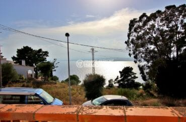 agence immobilière costa brava: villa 53 m², jolie vue mer depuis la terrasse