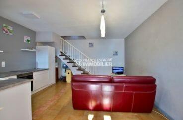 maison a vendre espagne, parking, salon / séjour avec cuisine ouverte