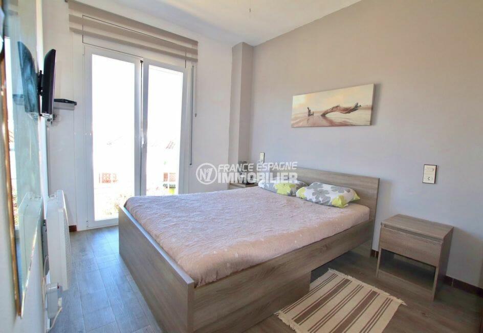maison a vendre espagne, 75 m²: première chambre lumineuse acccès terrasse