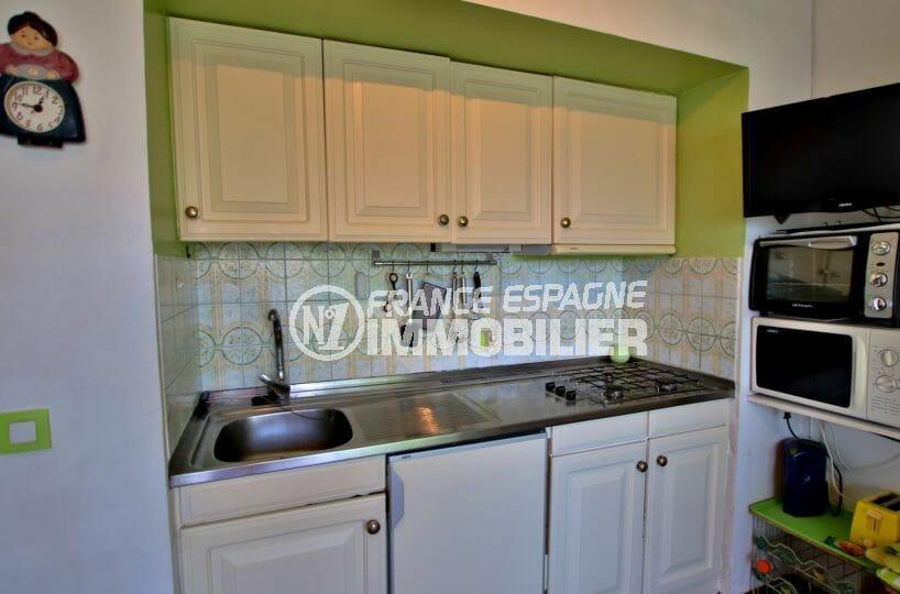 acheter appartement rosas, 29 m², coin cuisine équipée avec rangements