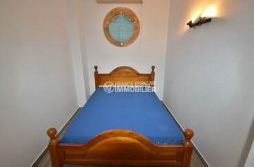 acheter appartement rosas, parking, deuxième chambre avec lit double