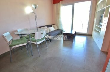 vente appartements rosas espagne, atico, salon / séjour lumineux accès terrassse
